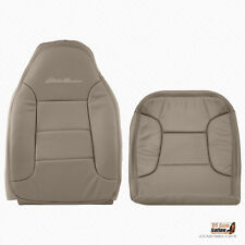 1994 1995 Ford Bronco Eddie Bauer Driver Bottom Plus Top Tan Synth Leather Cover