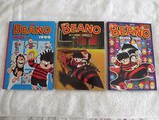 Three Beano Books.....Years.....1999.....2001.....2002....Used