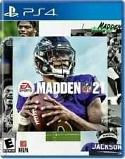 Madden Nfl 21 Ea Sports (Sony PlayStation 4 Ps4) Brand New Factory Sealed!