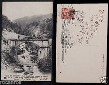 ITALY 669 LINEA DEL SEMPIONE -1906 Ponte Baldrini sulla Cairasca all'imbacco del