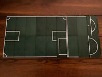 Green Lego Base Plates - Football Soccer Field Character Options Ltd -Incomplete