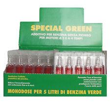 N. 100 ADDITIVO BENZINA EUREX SPECIAL GREEN SOSTITUTIVO PIOMBO  5 ml. Monodose