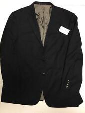 Hart Schaffner Marx Men's Double Button Suit Jacket Blazer Blue Size 46L