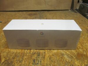 Google Wi-Fi Whole-Home Mesh Wi-Fi Router System - 3 Pack ( LOT A2)