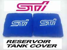 JDM STI BLUE RESERVOIR OIL TANK COVER SOCK FOR SUBARU BRZ IMPREZA WRX FORESTER