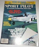 Sport Pilot Magazine King Video Review November/December 1986 080814R