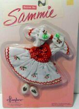 Effanbee Doll Company Dress Me Sammie Mv264 Red/White Dress New