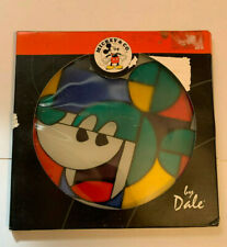 Disney Mickey Mouse Stained Glass Suncatcher by Dale Tiffany