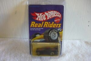 1982 Hot Wheels Real Riders Unpunched Original Black  '57 T-Bird