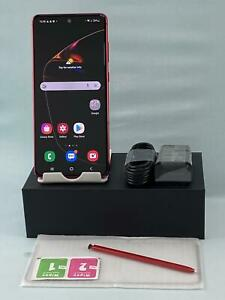 Samsung Galaxy Note 10 Lite Duos SM-N770F 128GB Red! GSM Unlocked phone! Duos!
