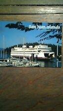 WASHINGTON STATE FERRIES M.V. KALEETAN SAN JUAN ISLAND PHOTO POST CARD