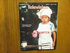 April 27, 1986 Detroit News Television Magazine( EMMANUEL  LEWIS/WEBSTER)