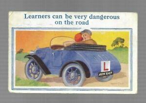Donald McGill Postcard - 1938