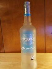 Empty  cruzan rum bottle