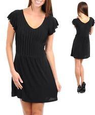 V-Neck Stretch Petite Dresses for Women