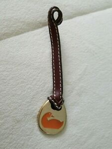 Details about  /Dooney /& Bourke Charm Dangle FOB ID Tag Lot 9 Leather Metal Hearts Ducks L@@K!