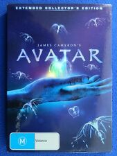 Avatar (DVD, 2010, 3-Disc Set, Extended Collectors Edition) - Good Condition