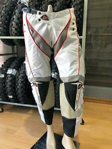 Pants Motorcycle cross Enduro Quad Airoh Balistic Racing 2010 Size L - 52 White