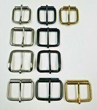 1 1/2 3/4 Plain Belt Buckle Nickel Plated Black Brass 10 50 pcs High Quality Lot