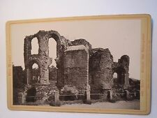Die Mosel - Trier - Ruinen des Kaiserpalast / KAB