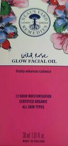 Neals Yard Wild Rose Glow facial oil