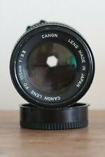 CANON 135MM 1:3 .5 FD Obiettivo con messa a fuoco manuale Nero per Macchina Fotografica Vintage Classico Street