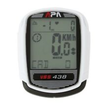 NEW APA CYCLE COMPUTER VSS438 - CADENCE AND HEART RATE MONITOR 37 FUNCTIONS