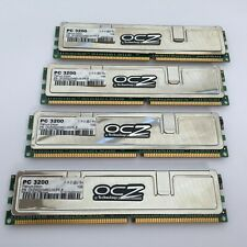 OCZ Platinum Edition 4GB (4 X 1GB) 184-Pin SDRAM DDR400 (PC3200) de doble canal