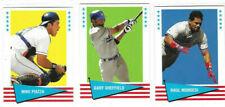 3x 1999 Fleer Baseball Greats Inserts Los Angeles Dodgers