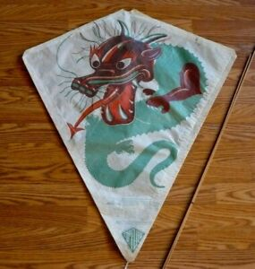 Vintage CHINESE DRAGON Kite by Top Flite
