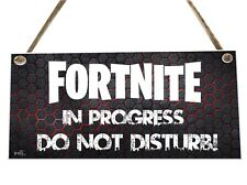 Computer Game Do Not Disturb Wooden Novelty Plaque Sign Gift fcp22