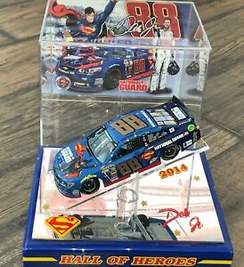 2014 Dale Earnhardt Jr. Superman National Guard 1:24 MICHIGAN GOLD NUMBERS