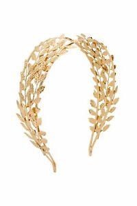 Morgan & Taylor Clara Headpiece in Gold