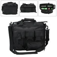 Mens laptop bags Tactical Briefcase Computer Shoulder Handbags Messenger Bag UK