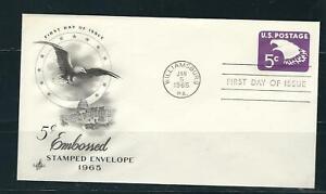 US SC # U550 Eagle FDC . Artcraft Cachet