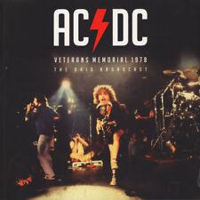 AC/DC - Veterans Memorial Ohio 1978 RED COLOURED vinyl LP IN STOCK NEW/SEALED