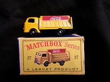 Matchbox 37 Karrier Bantam Coca Cola Lesney boite boxed