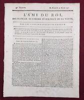 Vernon 1791 La Rochelle Châlons-sur-Marne Alais Journal Royaliste L'ami du Roi