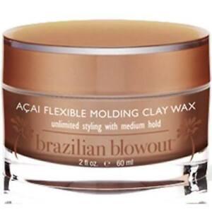 BRAZILIAN BLOWOUT Acai Flexible Molding Clay Wax 2oz