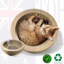 Pet Cat Scratcher Scratching Board Corrugated Cardboard Scratch Post Bowl Shaped
