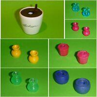 Playmobil - Ersatzteil - Vase Bodenvase Kübel Blumentopf - zum aussuchen