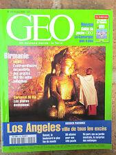 GEO n°252,fév.2000:Brésil,Suisse,Sous-marins,Birmanie,Los Angeles,Camargue,Kenya