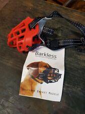 "Barkless Soft Basket Muzzle Sm. Dogs New Maltese Dachshund Toy poodle 7-8"" snout"