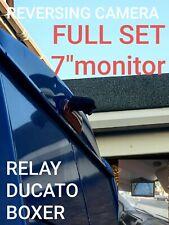 "Citroen Relay Reversing  Camera kit plus 7"" monitor"