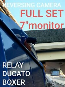 "Citroen Relay Reversing  Camera kit plus 7"" monitor 1024x600"