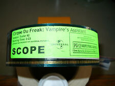 CIRQUE DU FREAK: VAMPIRE'S ASSISTANT, unused orig 35mm trailer [John C. Reilly]