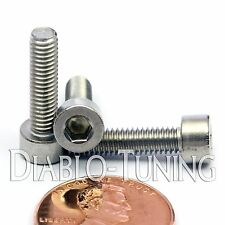 M4 x 16mm - Qty 10 - DIN 912 SOCKET HEAD Cap Screws - Stainless Steel A2 / 18-8