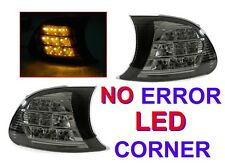 DEPO Screw-On Amber LED Smoke Corner Signal Lights For 02-03 BMW E46 2D/02-06 M3