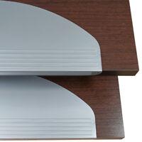 Stufenmatten Treppenmatten N64-07 silber Treppenschoner durchgefärbt rutschfest