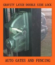 Gate Lock - DIY Double Sided Lock Gravity Latch for Swing Gate